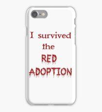 Red Adoption iPhone Case/Skin