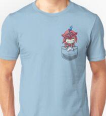 180b5d23e0c4 Pocket Baby Sidon Breath of the Wild Champion tshirt Unisex T-Shirt
