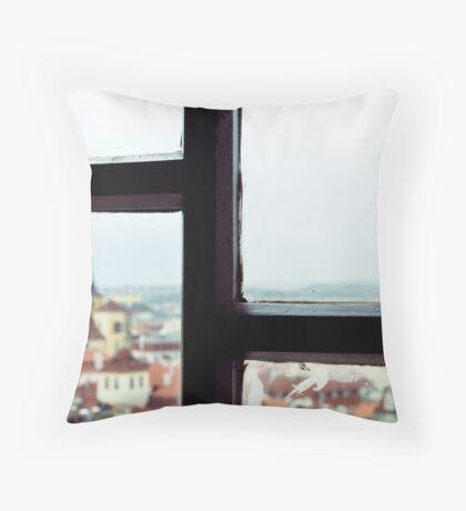 Timeless Prague Throw Pillow