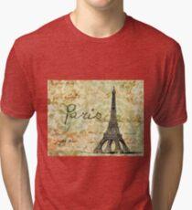 Paris - v07b Tri-blend T-Shirt