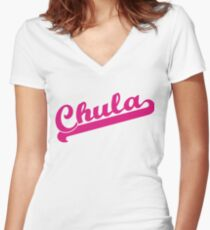 Chula Women's Fitted V-Neck T-Shirt