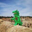 Dinosaur suit by bricksailboat