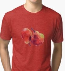 Two Red Pears Tri-blend T-Shirt