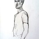 Julien (in pencil) by Arzeian