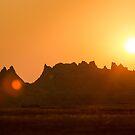 Badlands at Sunset I by HiddenRockRanch