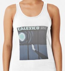 Calexico Edge of the sun LP Sleeve artwork fan art Racerback Tank Top