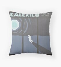 Calexico Edge of the sun LP Sleeve artwork fan art Throw Pillow
