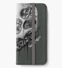 Cyberpunk Skull iPhone Wallet/Case/Skin