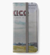 Calexico - The thread that keeps us LP Sleeve artwork Fan art iPhone Wallet/Case/Skin