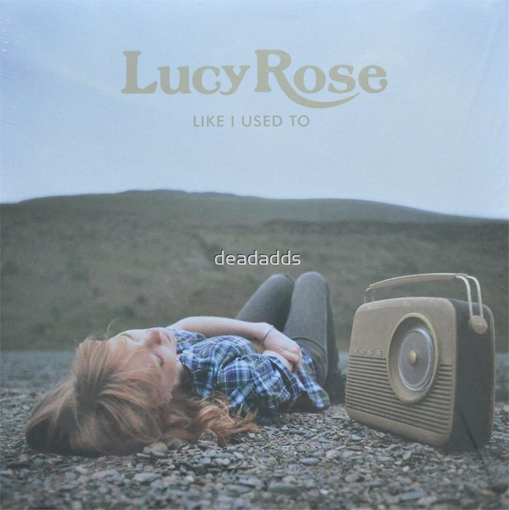 Lucy Rose - like i used to LP Sleeve artwork Fan art by deadadds