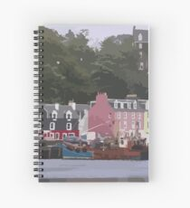 Tobermory, Isle of Mull, Scotland Spiral Notebook