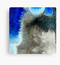 black&blue 11 Canvas Print