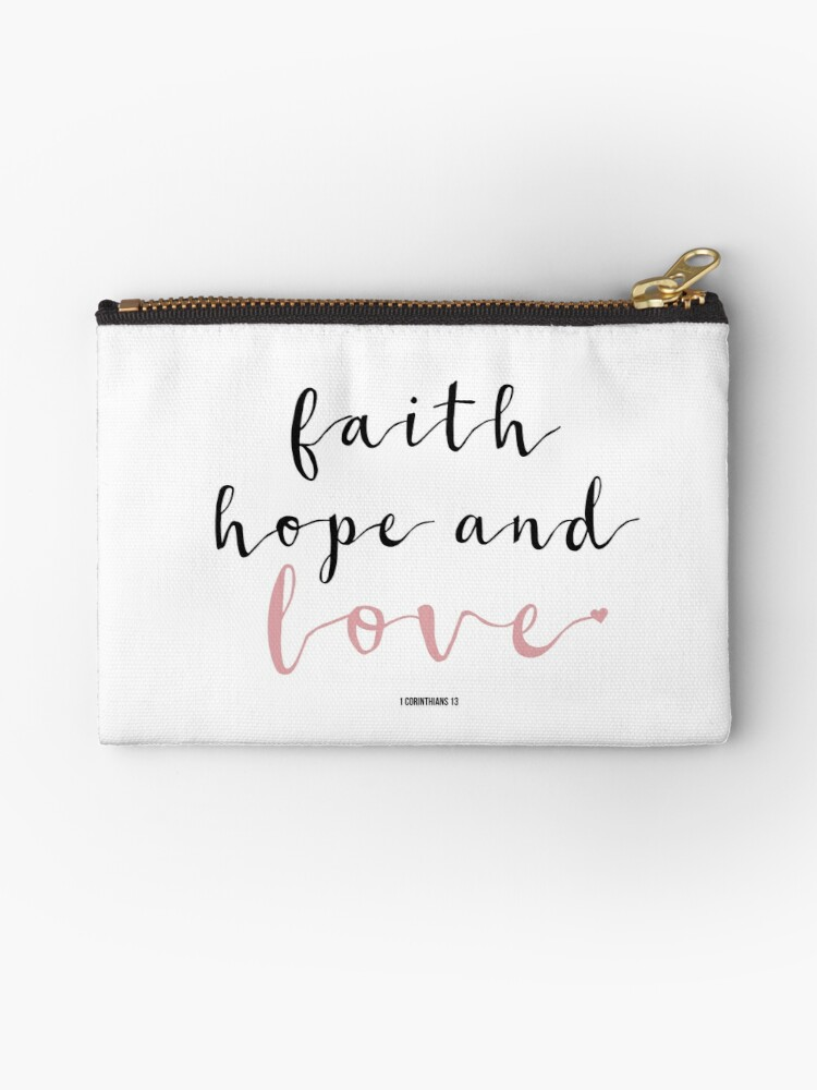 Faith Hope Love Cute Girly Christian Quotes Handwritten Typography Extraordinary Love Faith Hope Quotes