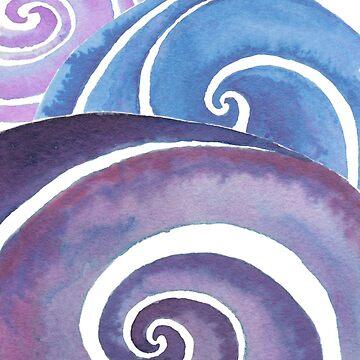 spirals by monart