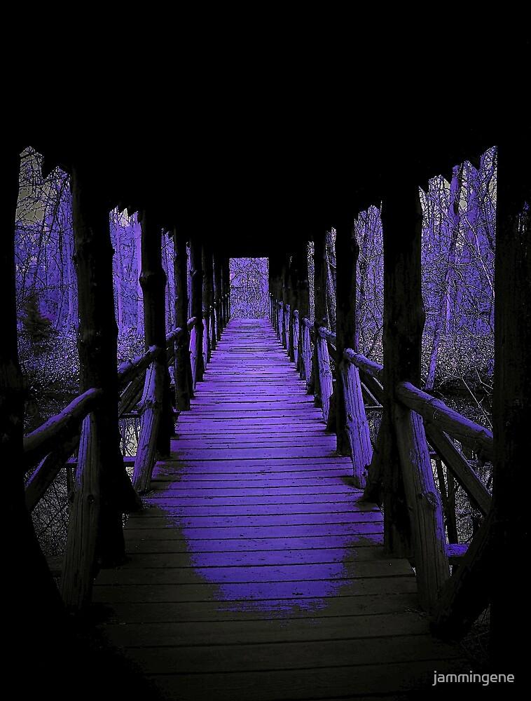 The strange ways of purple by jammingene