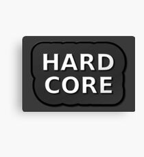 Hard Core 2 Canvas Print