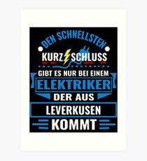 Elektriker Leverkusen leverkusen kunstdrucke redbubble