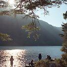 Ireland, Glendalough Lake, Wicklow  by Tomasz-Olejnik