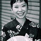 Japanese Lady, Asakusa Tokyo, 2008 by Tash  Menon