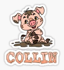 Collin Piggy Sticker