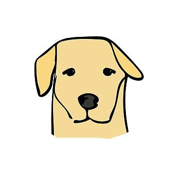 Golden Labrador  by paperclipenguin