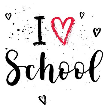 I love school sticker by natakuprova
