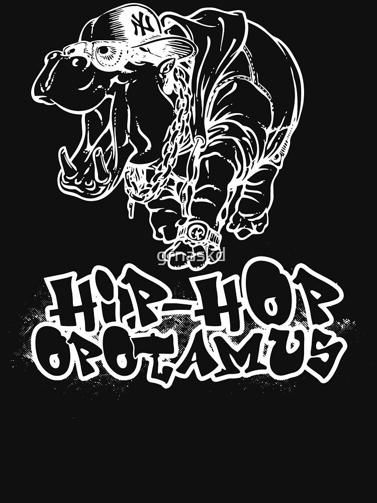 Hip Hop Opotamus (Inverted) de grnaskd