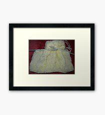 Knitting Framed Print