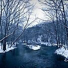 Moody River of Winter by EthanQuin
