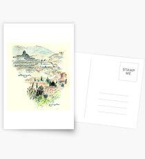 Granada · Vista del Albaicín al amanecer Postales
