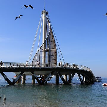 Playa Los Muertos Pier by tenia115