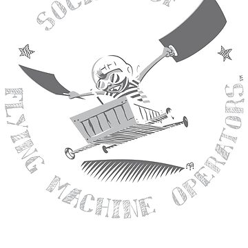 Seal of the Society of Flying Machine Operators by ThatBenWalker