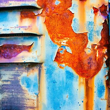 Rusty and peeling metal 2 by sil63