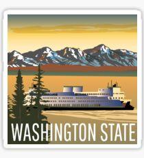 Washington State Ferry Sticker