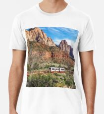 Zion National Park Men's Premium T-Shirt