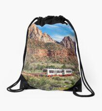 Zion National Park Drawstring Bag