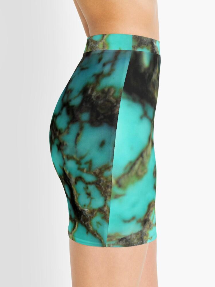 Alternate view of Turquoise gemstone Mini Skirt