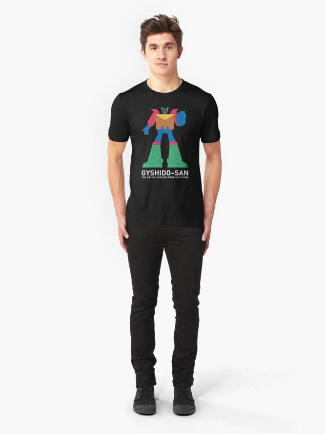 Alternate view of The GyShiDo-San T-Shirt Slim Fit T-Shirt