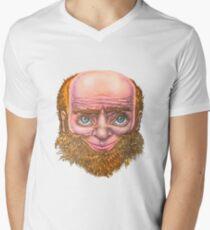 The Gentle Giant Men's V-Neck T-Shirt