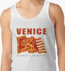 Venice Italy St. Mark's Square Flag  Tank Top