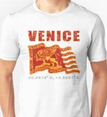 Venice Italy St. Mark's Square Flag  Unisex T-Shirt