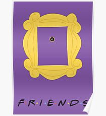 Friends Door frame poster Poster