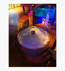 Spa Full Of Ice Photographic Print