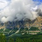 Castle Mountain ! by Elfriede Fulda