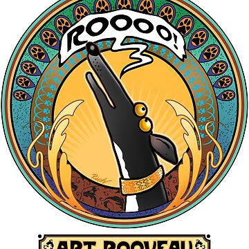 Art Rooveau: A Redbubble exclusive design by RichSkipworth