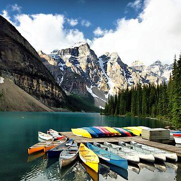 Moraine Lake, Banff NP by tenia115