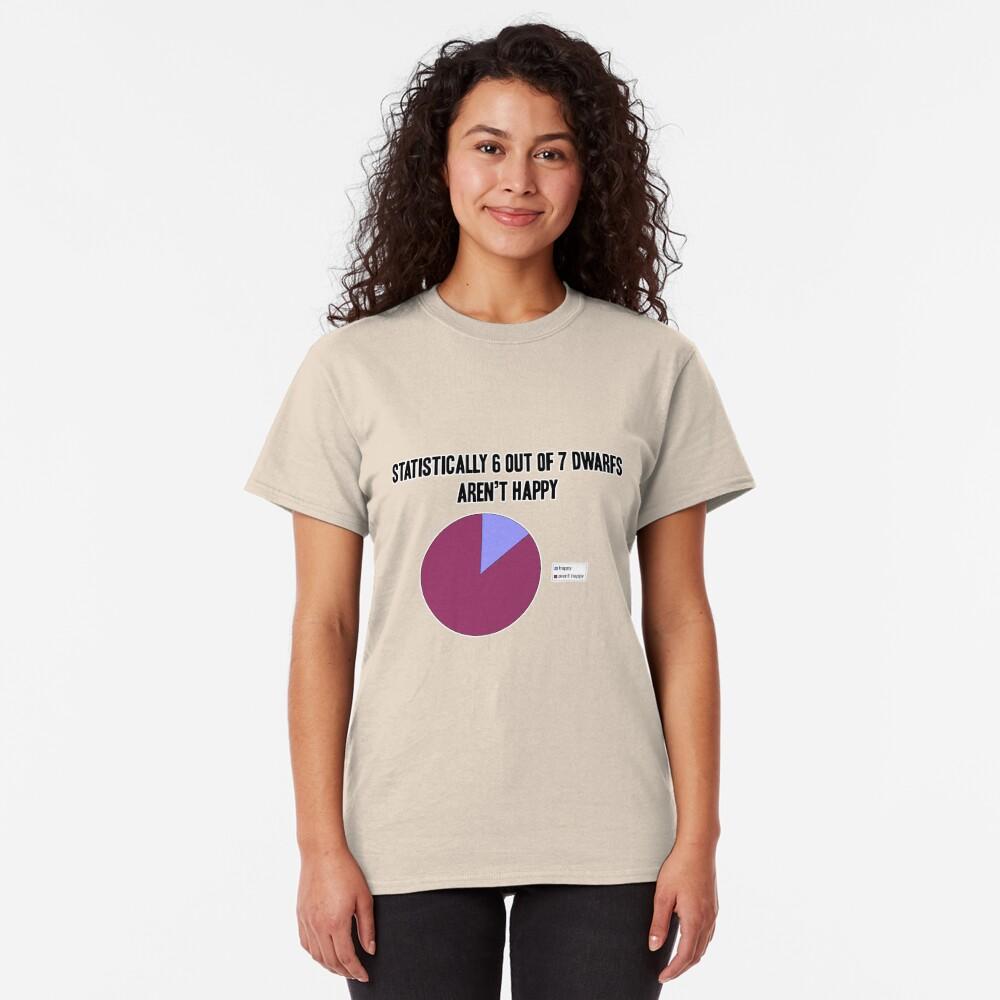 Dwarf statistics Classic T-Shirt