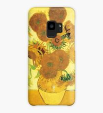 Van Gogh's Sunflowers in a Vase Case/Skin for Samsung Galaxy
