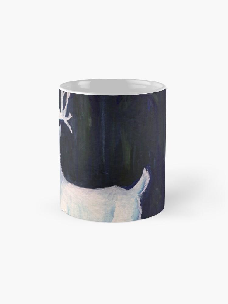Alternative Ansicht von weißer Hirsch Tasse