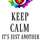 Keep Calm Maintenance Monday Black by PhxDnRadio